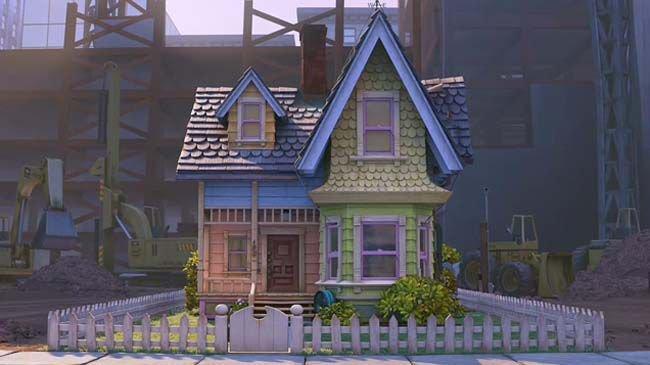 Quelle: Pixar Studios | DVD Oben 2009