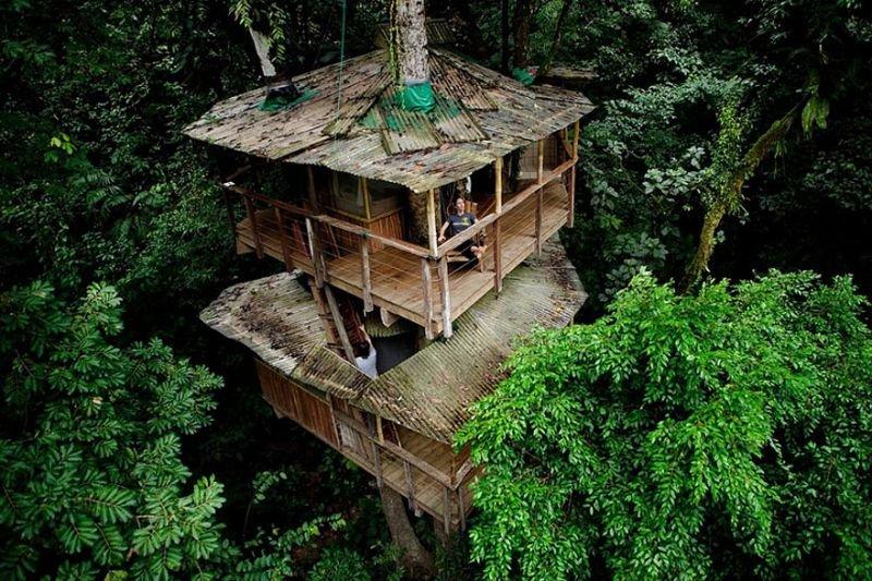 Öko Baumhaus Finca Bellavista Baumhaus Costa Rica | Quelle: http://www.andersbirch.com/
