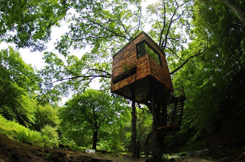 Baumhaus von Takashi Kobayashi Japan | Quelle: http://www.treehouse.jp/thp_eng/koba.html