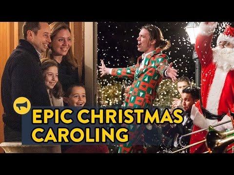 Epic Christmas Caroling
