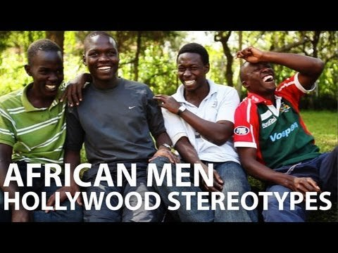 African Men. Hollywood Stereotypes. [mamahope.org]