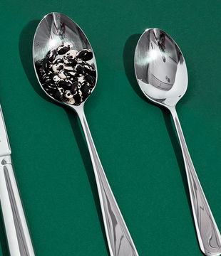 Polished Steel Spoons