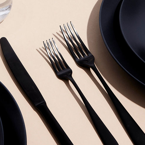 Matte Black Forks