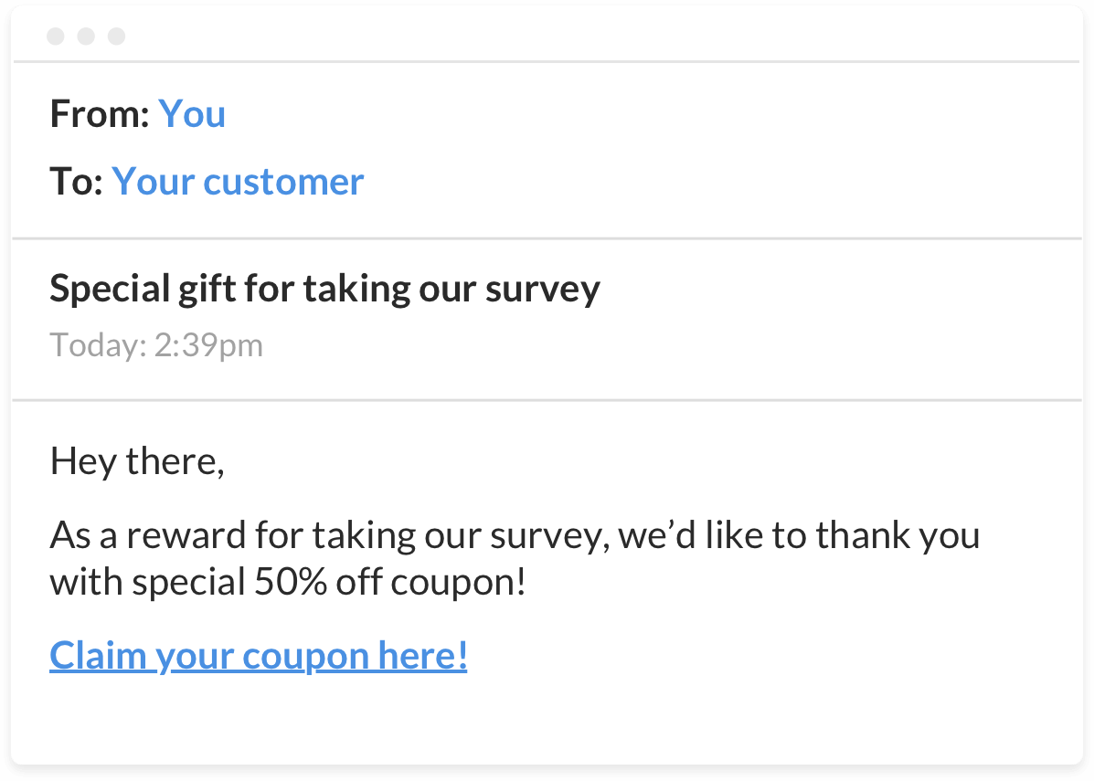 email surveys that gets you more responses yesinsights automated follow up email