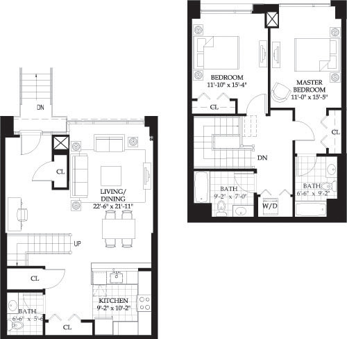 2 Beds, 2 Baths apartment in Boston, West End for $4,440