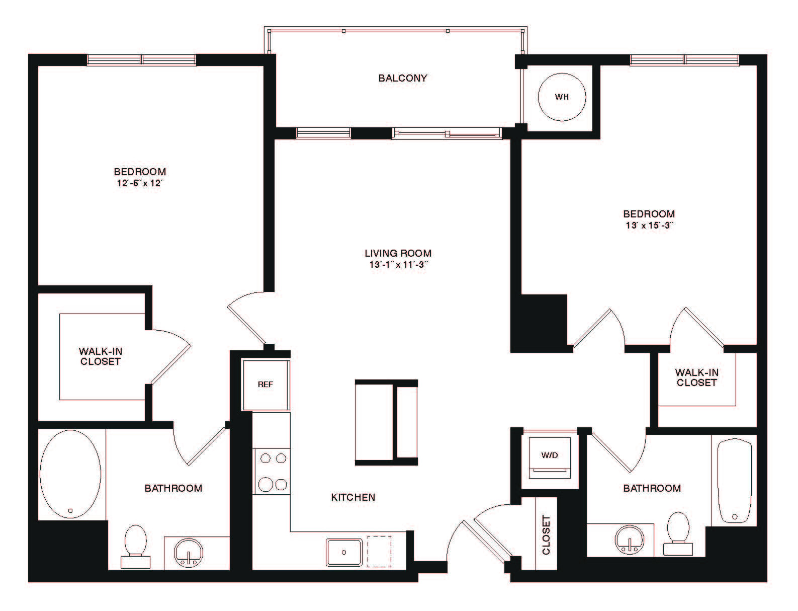 2 Beds, 2 Baths apartment in Cambridge, Cambridge Highlands for $2,962