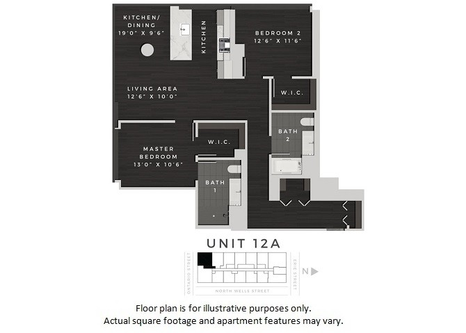 640 North Wells St., Chicago, IL - 3,855 USD/ month