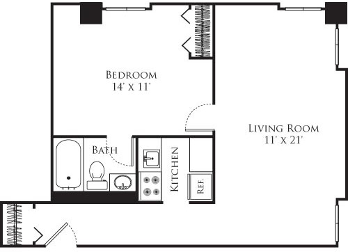 1 Bed, 1 Bath apartment in Cambridge, Mid Cambridge for $2,550