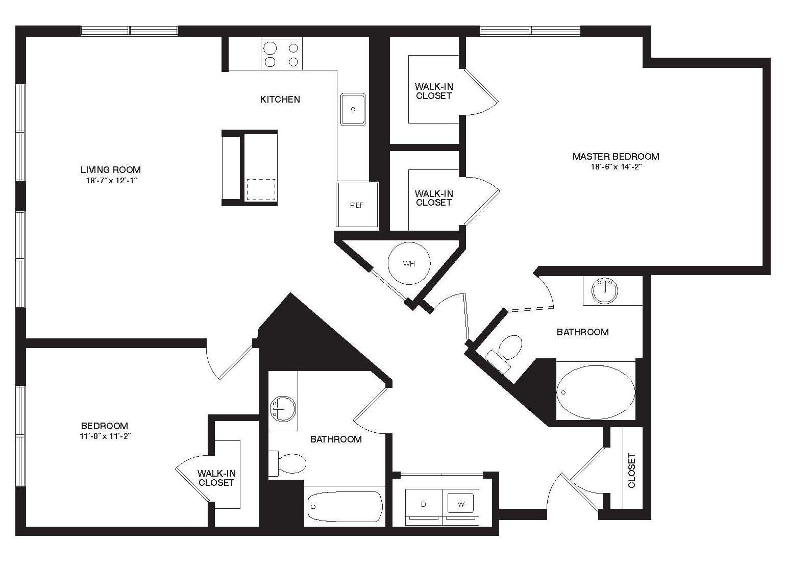 2 Beds, 2 Baths apartment in Cambridge, Cambridge Highlands for $3,337