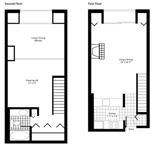 1818 West Halsted St., Chicago, IL - 1,885 USD/ month