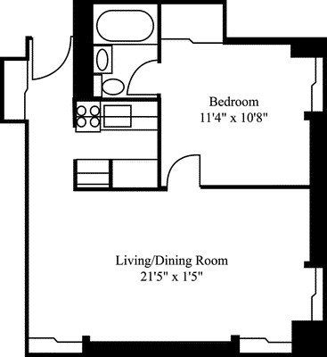 1 Bed, 1 Bath apartment in Cambridge, Mid Cambridge for $2,545