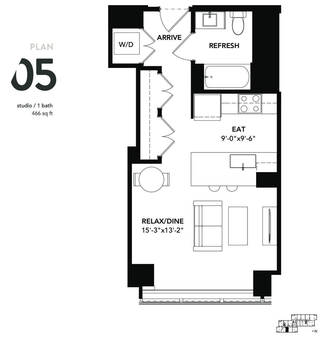 801 South Financial Pl., Chicago, IL - 1,698 USD/ month