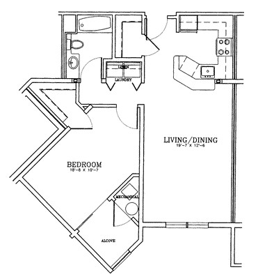 1 Bed, 1 Bath apartment in Quincy for $1,926