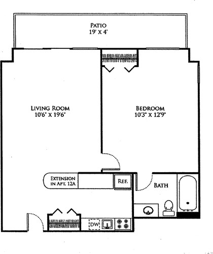 1 Bed, 1 Bath apartment in Cambridge, Mid Cambridge for $2,695