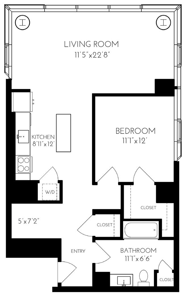 25 Northern Ave., Boston, MA - 6,124 USD/ month