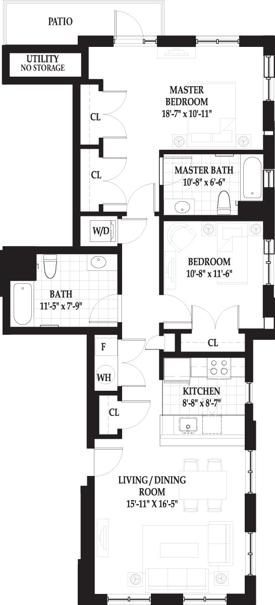 2 Beds, 2 Baths apartment in Boston, West End for $3,640