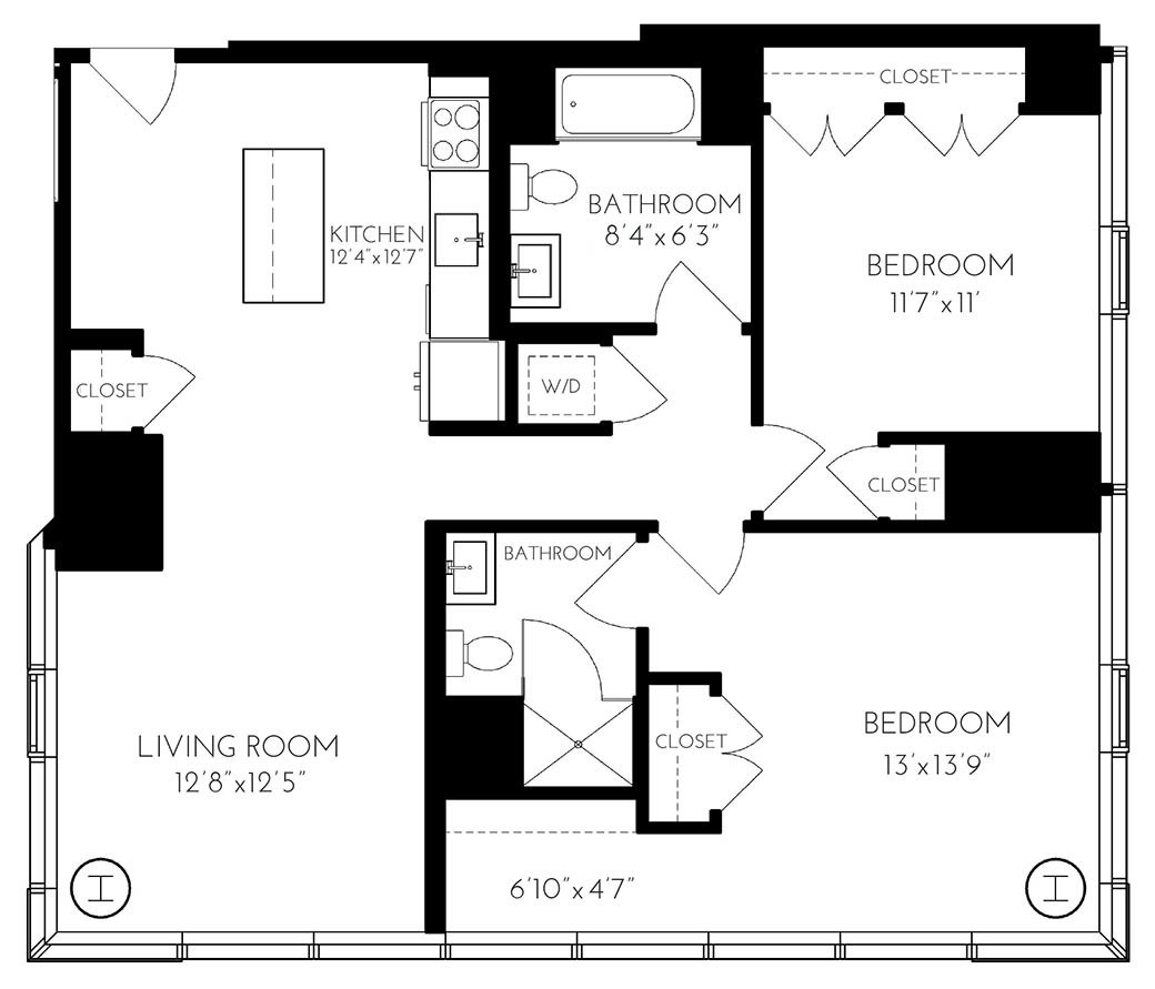 25 Northern Ave., Boston, MA - 7,671 USD/ month