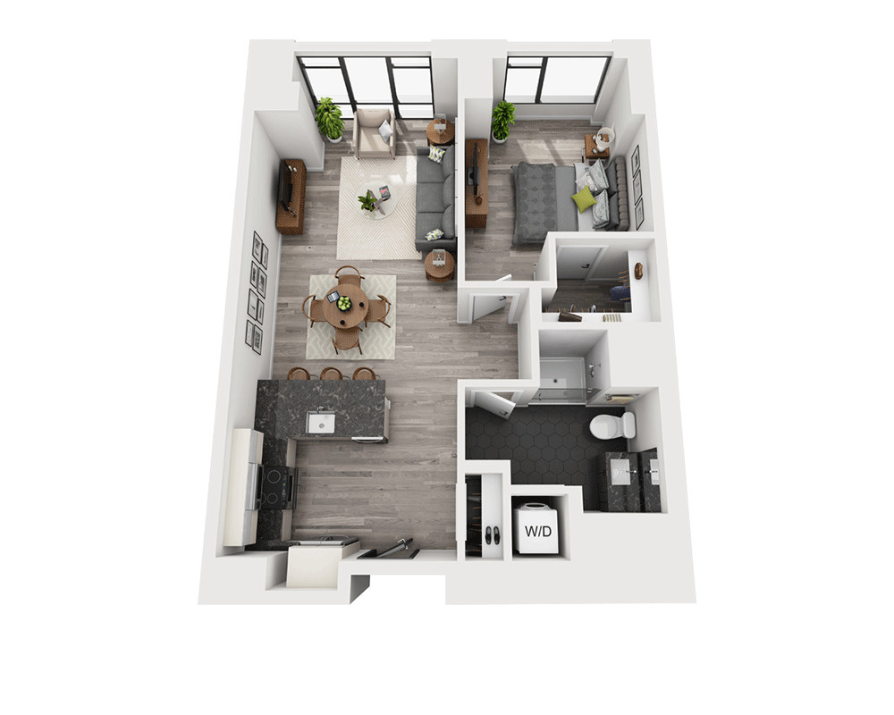 1 Bed, 1 Bath apartment in Boston, South End for $4,144