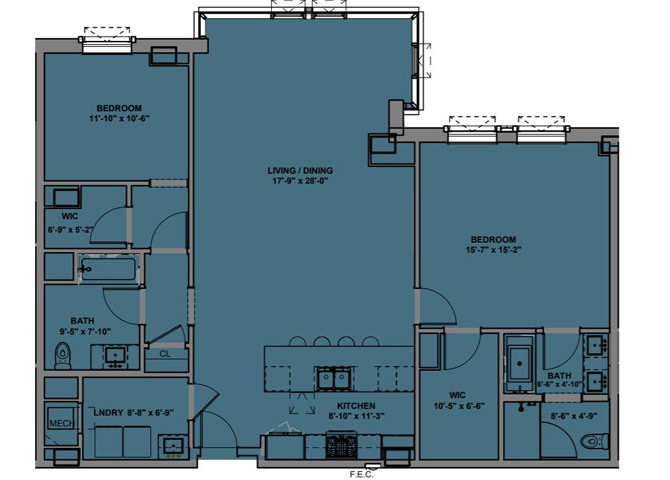 61 Banks St., Chicago, IL - 7,950 USD/ month