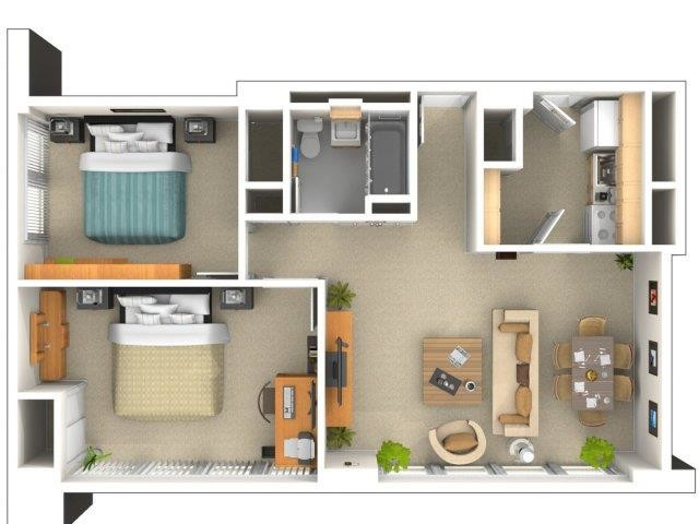 1649 East 50th St., Chicago, IL - 1,798 USD/ month