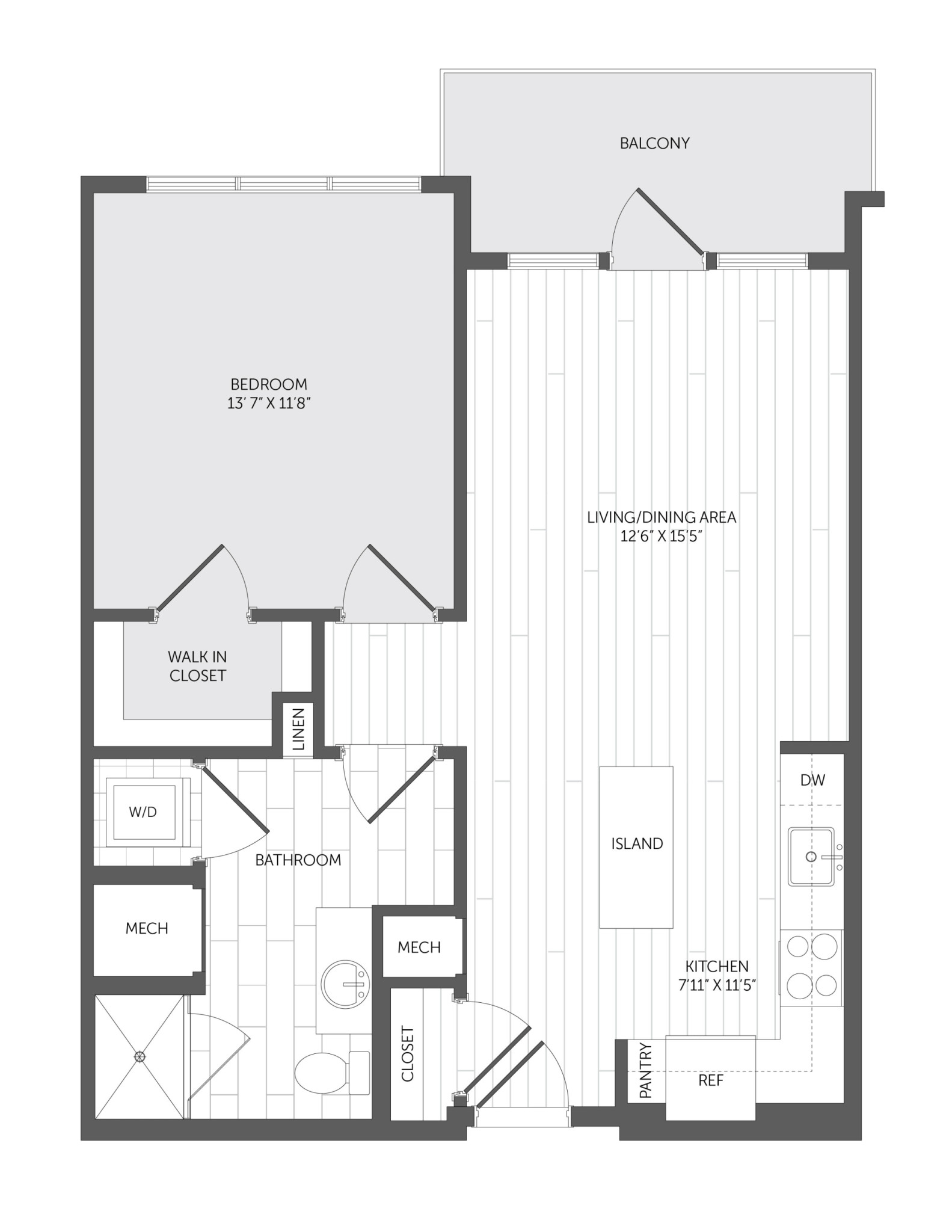 1 Bed, 1 Bath apartment in Quincy for $2,984