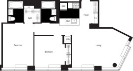 450 West 17th St., manhattan, NY - 8,295 USD/ month