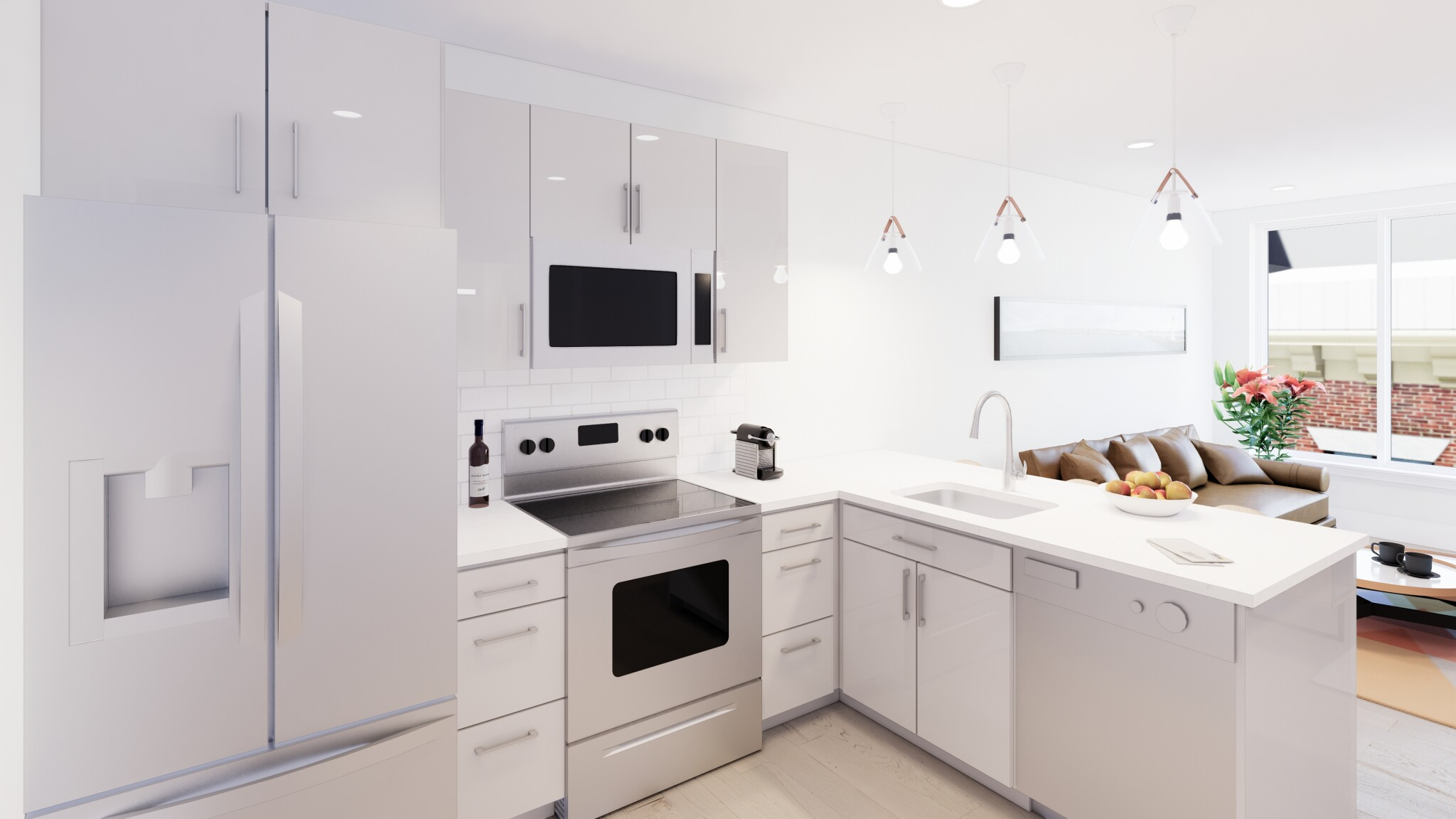 1 Bed, 1 Bath apartment in Boston for $2,500