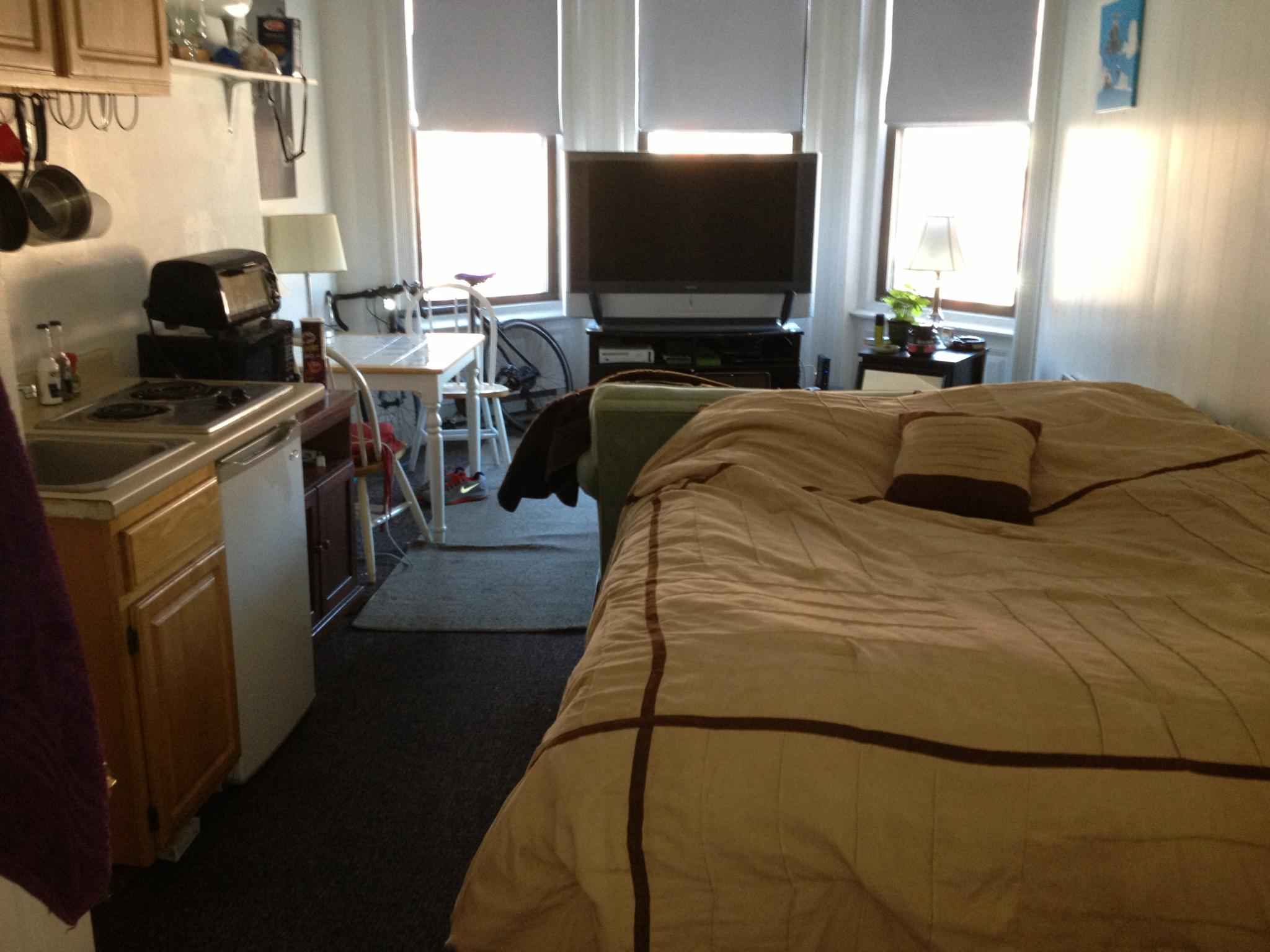 Studio, 1 Bath apartment in Boston, Back Bay for $1,595