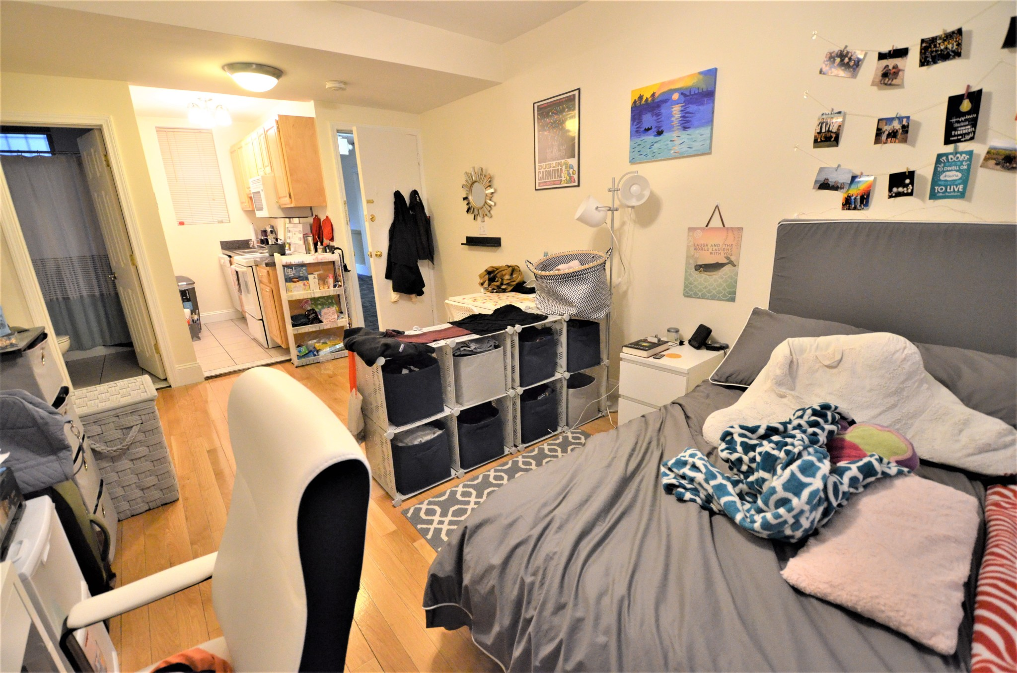 Avail 9/1 - Gorgeous, Renovated, Essential Studio on Haviland