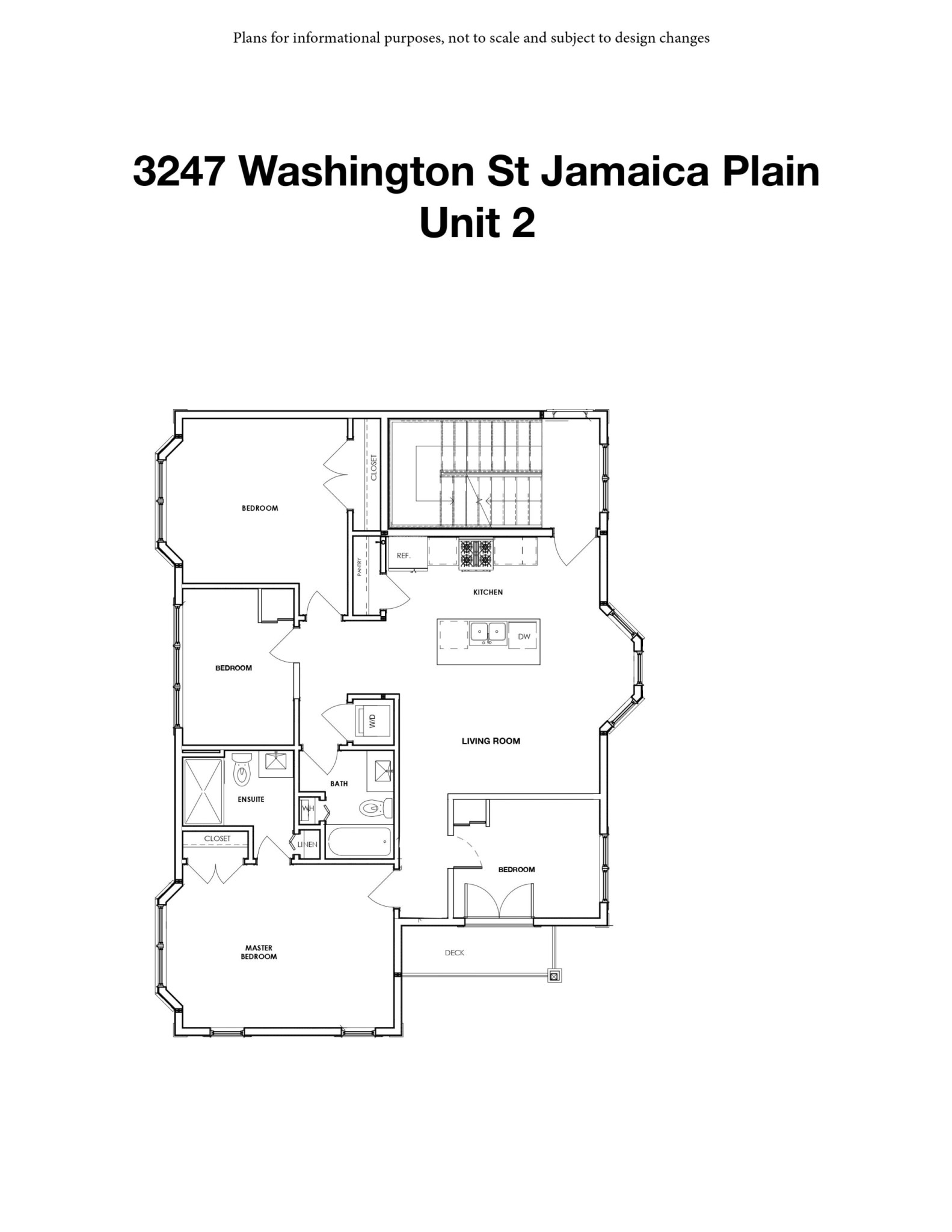 4 Beds, 2 Baths apartment in Boston, Jamaica Plain for $4,170