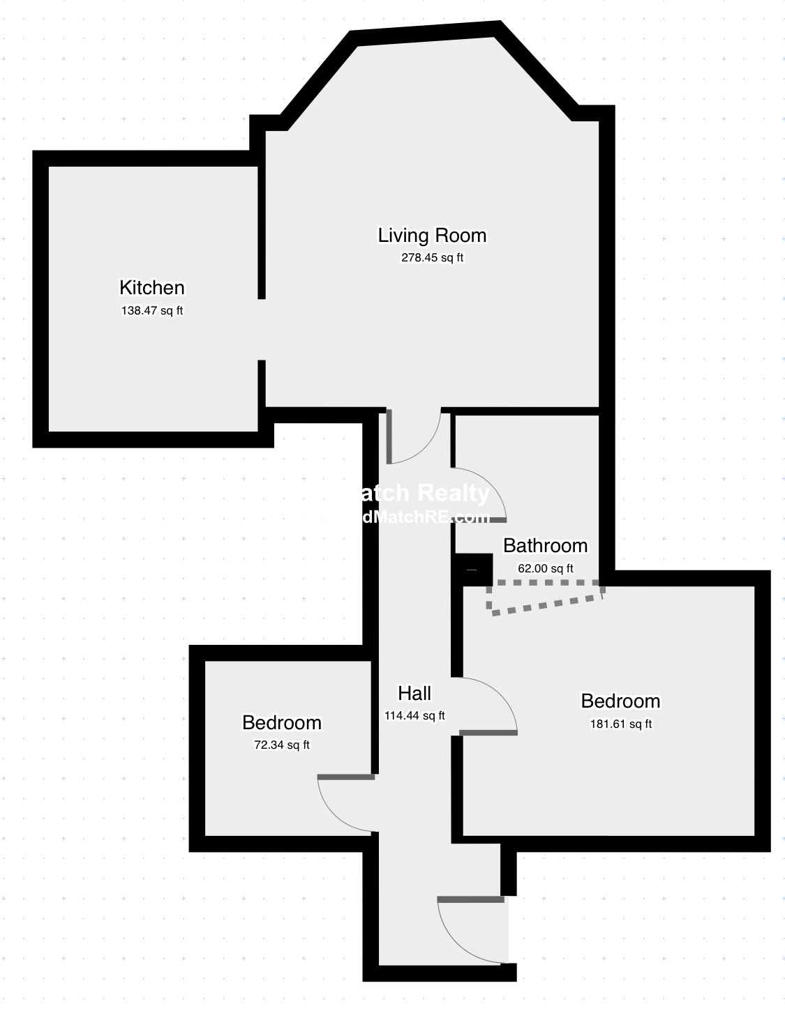 1.5 Beds, 1 Bath apartment in Brookline for $2,800