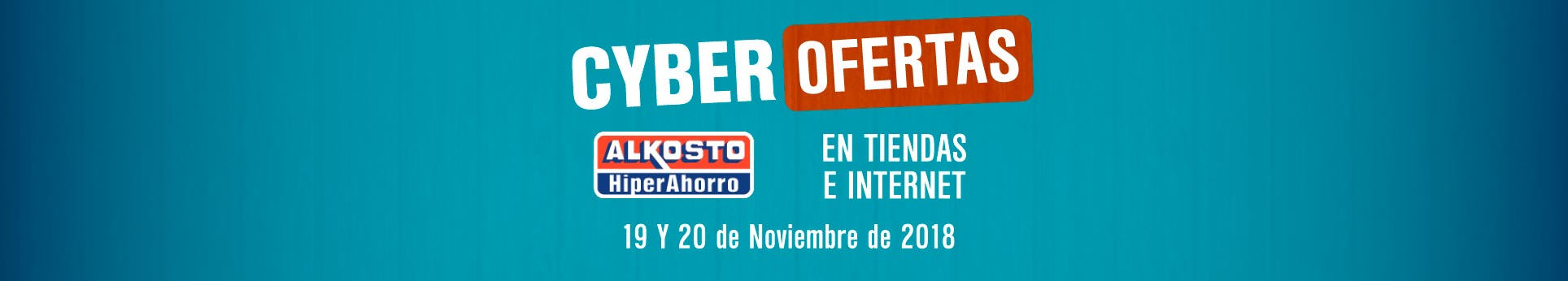 Cyber Lunes colombia 2018 Alkosto
