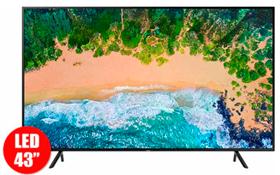 "TV 43"" 108cm SAMSUNG 43NU7100 4K UHD Internet"