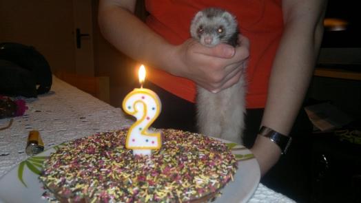 mon gâteau que maman a fait