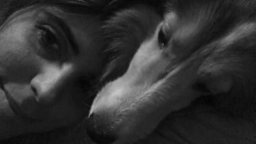Moi et ma Maman humaine ... hihi