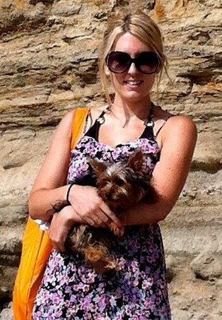 Avec ma maitresse a la plage :)