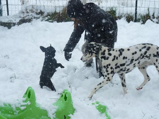 j'aime la neige !