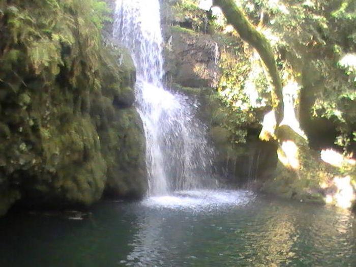 la cascade deriere chez moi