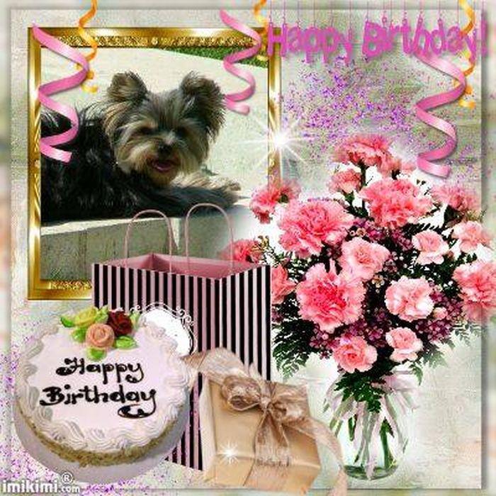 joyeux anniversaire petite Bimbo ♥
