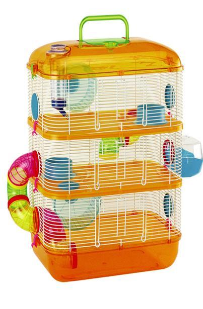 Comment am nager la cage de son hamster yummypets - La plus grande cage a hamster du monde ...