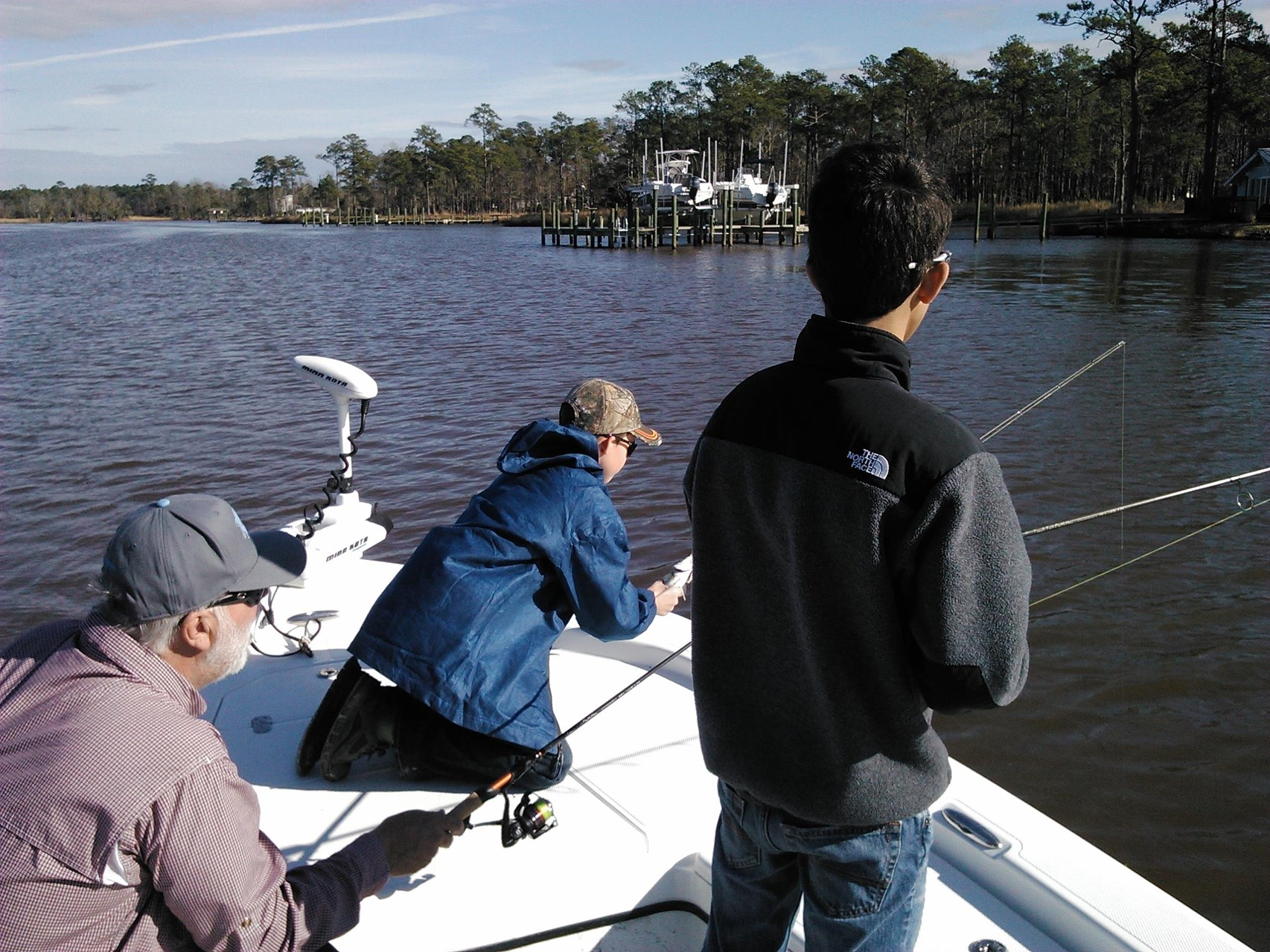 Winter speckled seatrout fishing in north carolina yobi for Winter trout fishing