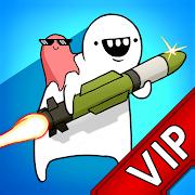 FREE App [VIP]Missile Dude RPG: Offline tap tap Missile