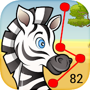 FREE App 82 Animals Dot-to-Dot for Kids