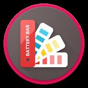 FREE App Battery Bar : Energy Bars on Status bar