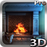 FREE App Fireplace 3D Pro lwp