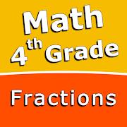 FREE App Fourth grade Math skills - Fractions
