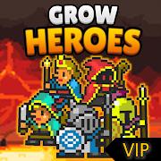 FREE App Grow Heroes Vip : Idle RPG