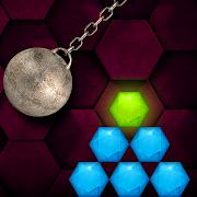 FREE App HEXASMASH • Wrecking Ball Physics Puzzle