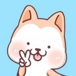 FREE App Hachi:Akita Dog Animated Emoji