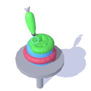 FREE App Icing Master 3D - Fun casual cake making game